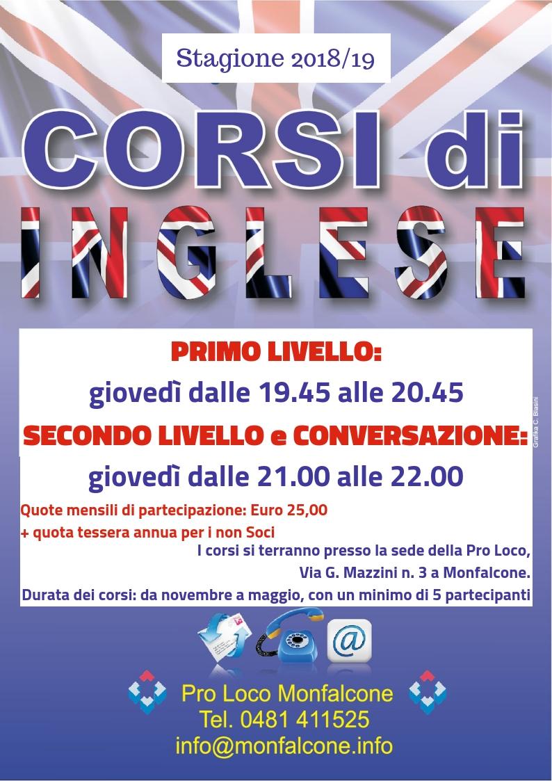 CORSI 2018/19 – Pro Loco Monfalcone